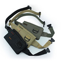 Unisex Anti-roubo de Telefone Celular Bolsa de Viagem Fino Hip Bum Belt Bloco de Fanny Cintura Sling Peito Bag
