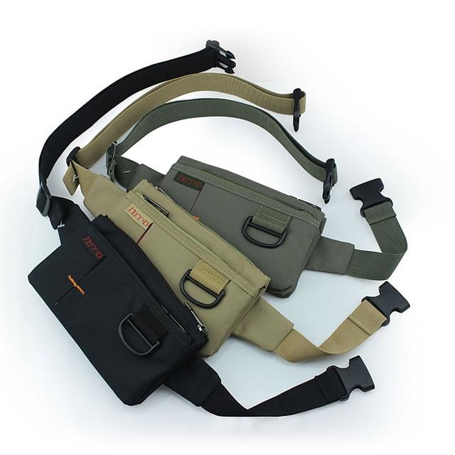Unisex Anti-theft Slim Travel Pouch Cell Mobile Phone Money Sling Chest Hip Bum Belt Waist Functional Fanny Shoulder Packs