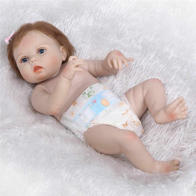 NPK 57 см, кукла-Реборн, силиконовая, для всего тела, Bebe, кукла, дети, Playmate, игрушки для девочек, Реалистичная мягкая кукла, Bebe, Реборн, реквизит для фотосессии