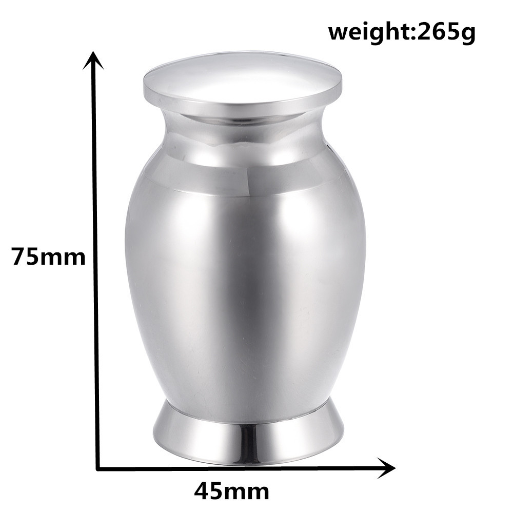 IJU001 Large Funeral Urn Engravable Human/Pet Stainless Steel Cremation Ashes Keepsake Urn Dog/Cat Cremains Memorial Ash Urn klh9359 dog tag stype my fur angel pet urn necklace for ashes memorial keepsake cremation pendant funnel gift