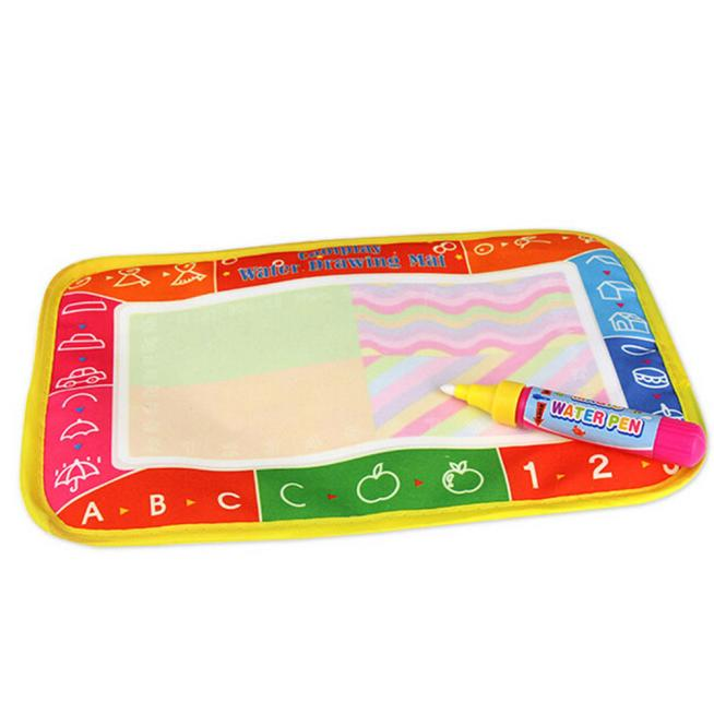 25 x 16.5cm New Water Drawing Painting Writing Mat Board Magic Pen Doodle Gift 13-24 Months Drawing Toys magnetic board  2016.11 Рисунок