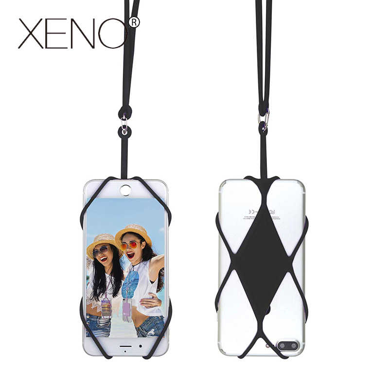 Universal Silicone Cell Phone Lanyard Holder Case Cover Phone Neck Strap Necklace Sling For Smart Mobile phone lanyard for phone