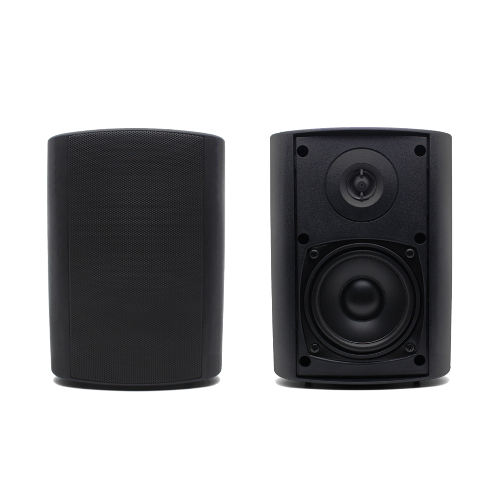 Herdio Bluetooth Speakers Outdoor Stereo 4 200W Wall Mounted 2 Way Audio System for Broadcasting Conference