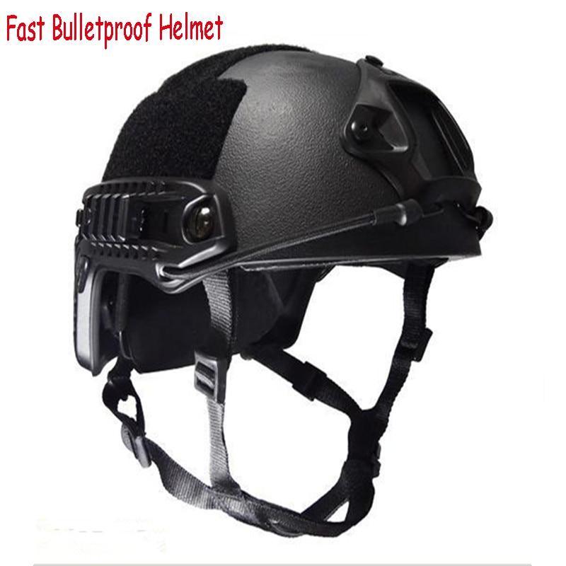 US Army Kevlar NIJ IIIA Tactical FAST Bulletproof Helmet Ballistic Helmet for Hunting Shooting