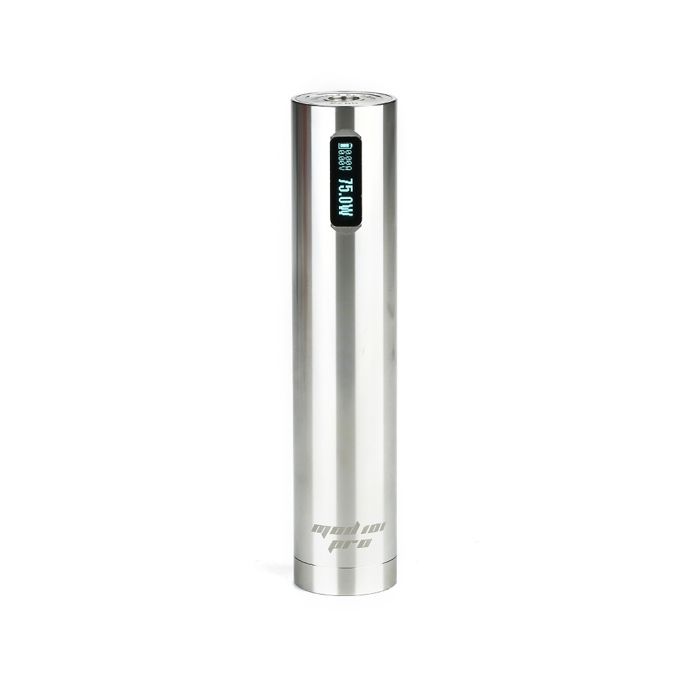 Ehpro 101 Pro TC Mod 75W Penstyle TC MOD Pen Mod OLED Display One Button Design No 18650 Battery Electronic Cigarette Mod