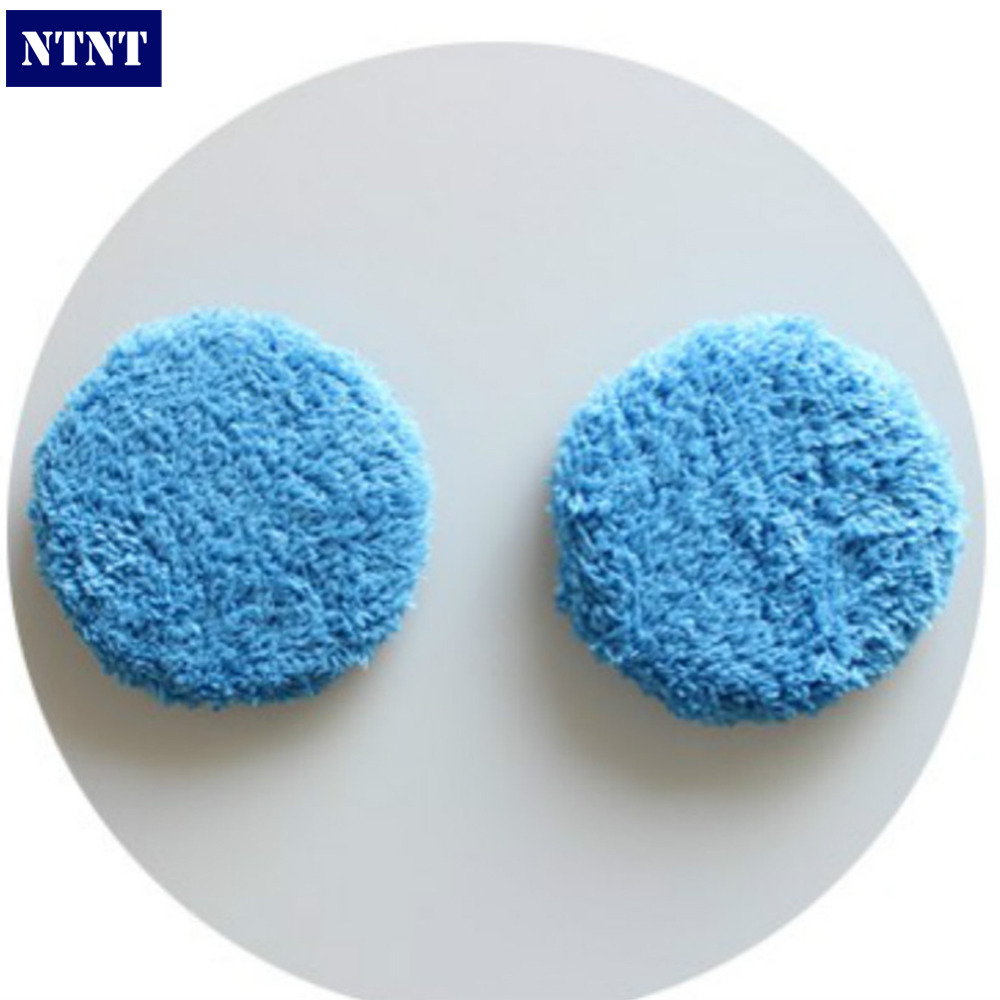 NTNT Free Shipping 24pcs/12double Set Blue hobot168 hobot188 window cleaning robot cleaning cloth