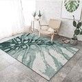 Высококачественный современный простой скандинавский арт ковер для гостиной  спальни  противоскользящий напольный коврик  модный кухонны...