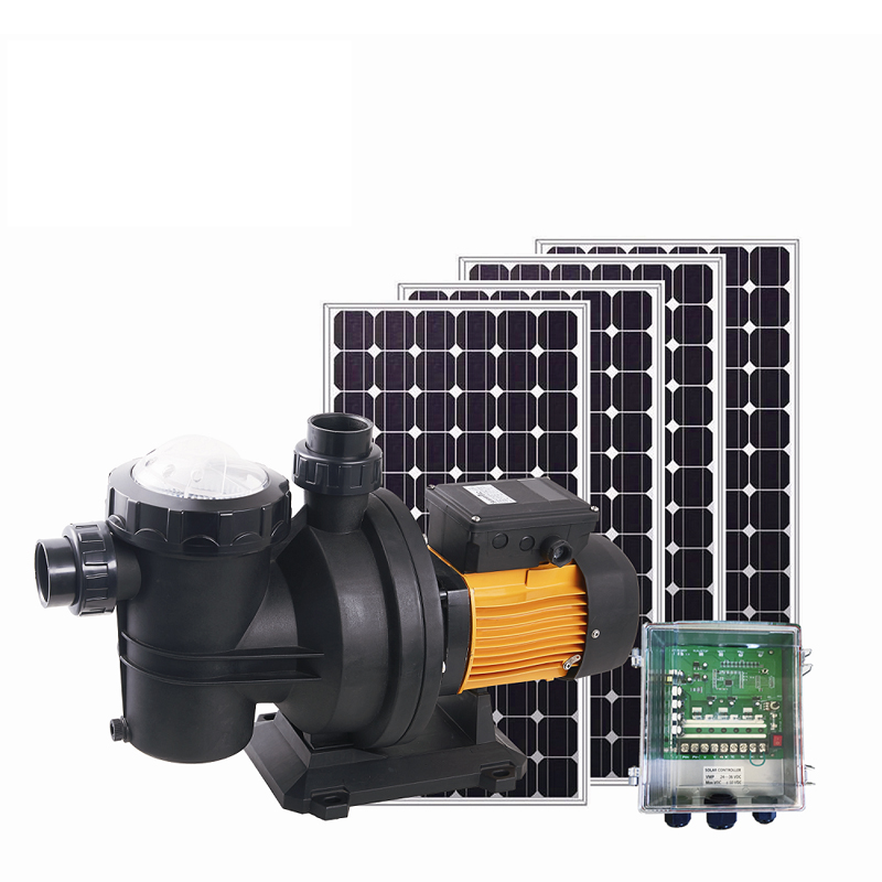 72V portable swimming pool pump solar for swimming pool dc solar pump for swimming pool solar swimming pool pump manufacture