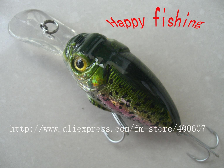 CRANK FISHING LUREcrank fishing lure plastic bait(C85F) bottom fishing lure bait  hard bait jerk lure fishing bait
