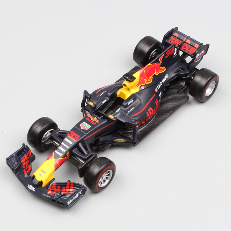 1 43 Scale 2016 Children Metal Diecast F1 Formula 1 Red Bull Racing TAG Henuer RB12
