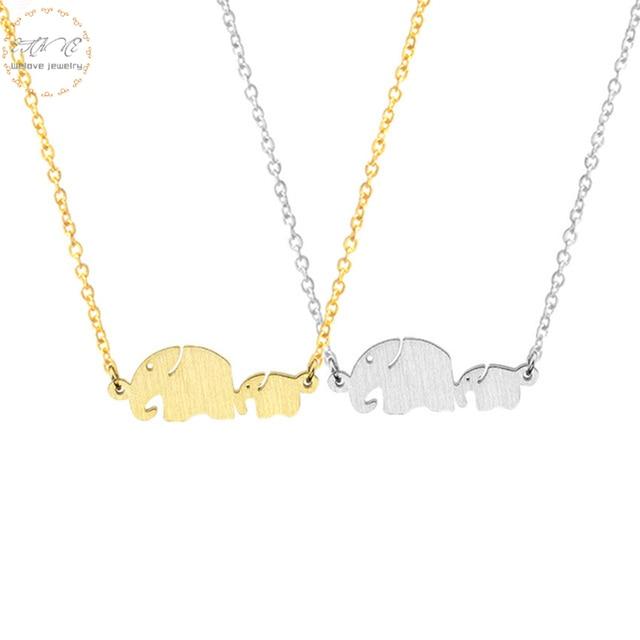 Kühle Mutter Tag Geschenk Mutter Und Kind Elefanten Halskette Für ...