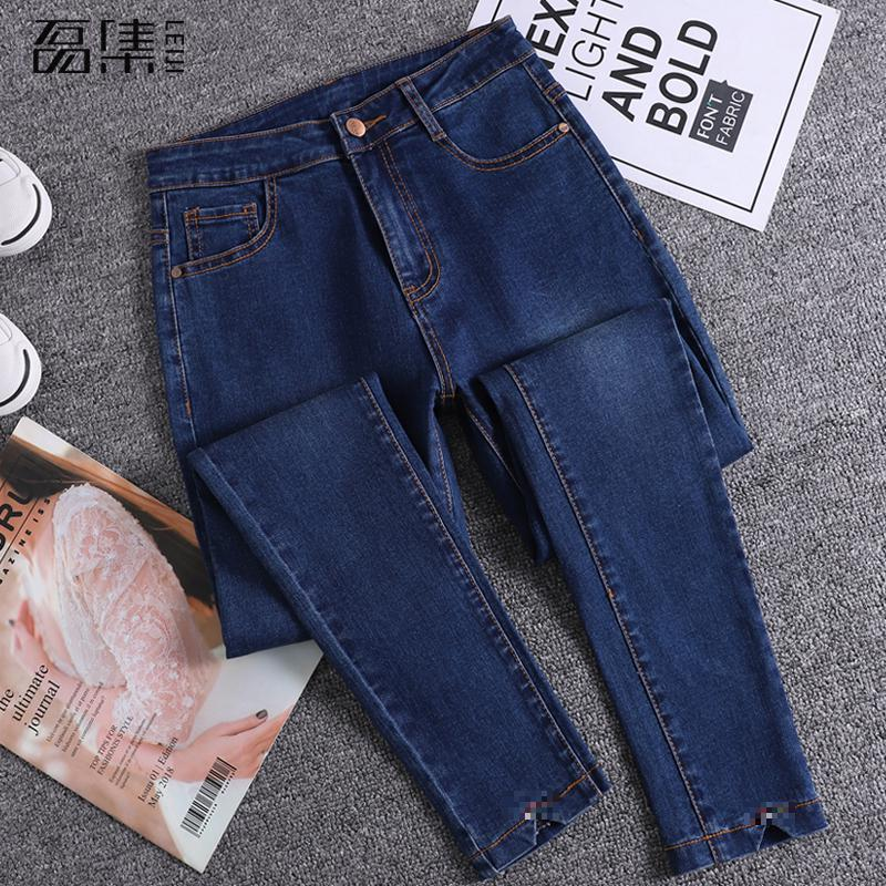Jeans   Woman High Waist New Arrival Soft Plus Size Full Length slim Female Skinny Pencil Denim Pants
