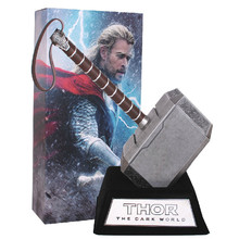 Super hero The Avengers Quake Thor's Hammer movie props 1:1 model Cosplay appliances Thor hammer