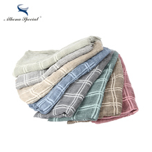 Athena Special Plaid Style Multi-Color Thick Type Women Scarf Cotton And Hemp Material Girl's Shawls And Scarves Hot Sale