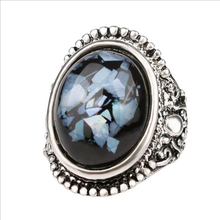 Vintage Antique Silver Plated Ring for Men