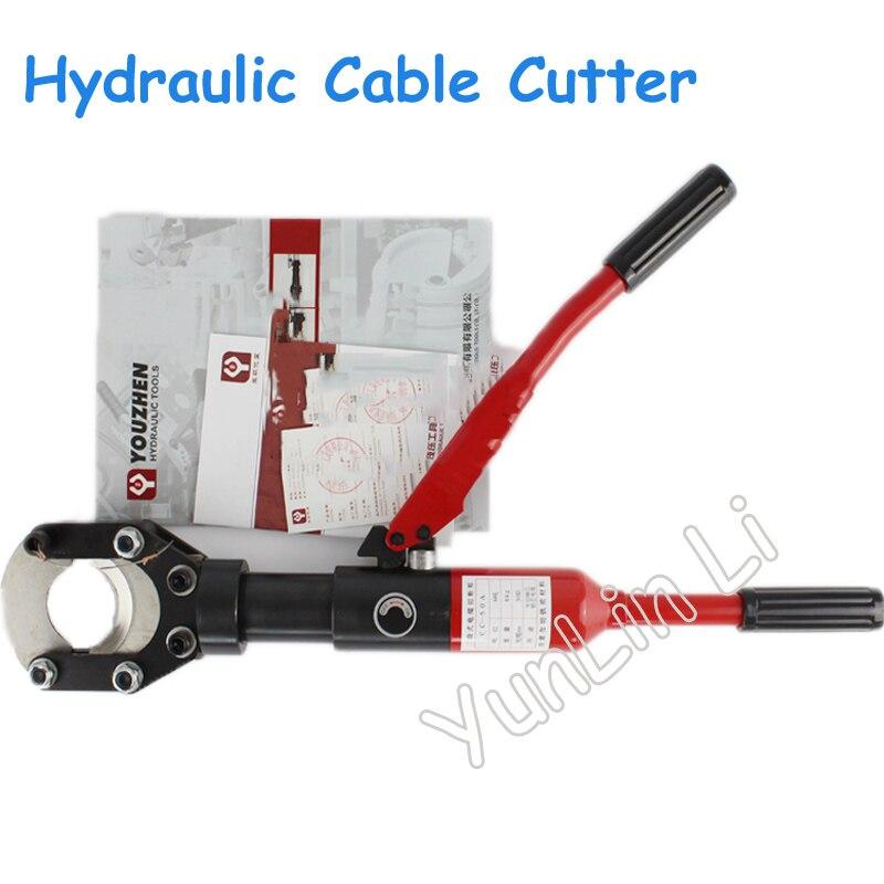 Гидравлический кабельный резак ручные гидравлические ножницы 50 мм Макс Кабель гидравлический кабельный резак инструменты CC 50A