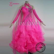 B-13112 Beautiful 100% Ruffled Ballroom Dance Dress