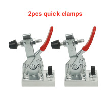 цена на 2pcs Engraving Machine Fastening Platen CNC Fixture Quick Clamp for Wood Aluminum  Metal Fixed Tools
