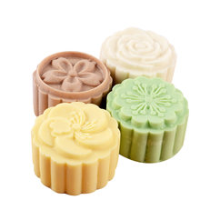 Форма для мыла moonторт с цветочным узором силиконовая форма