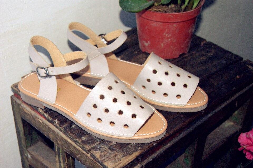 De nieuwe vrouwelijke zomer sandalen retro tij kleine verse - Damesschoenen - Foto 2