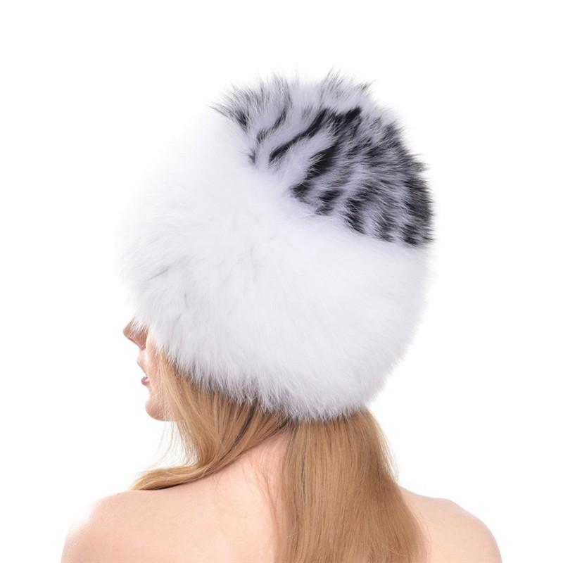 QUEENFUR-Women-Winter-Fox-Fur-Hats-Genuine-Fox-Fur-Knitted-Beanies-2016-New-Design-Russian-Style (5)