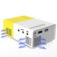 Wyświetlacz LED Przenośny Mini Projektor Kieszonkowy Miracast Airplay Wireless HDMI Pilot dla Business Travel Odkryty Nowy
