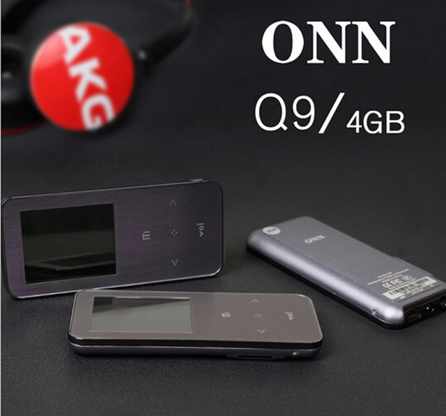 Hot sale! 2016 New ONN Q9 Primary Professional High quality MP3 Music Player 4GB with TFT Screen Support MP3 WMA APE FLAC WAV fo