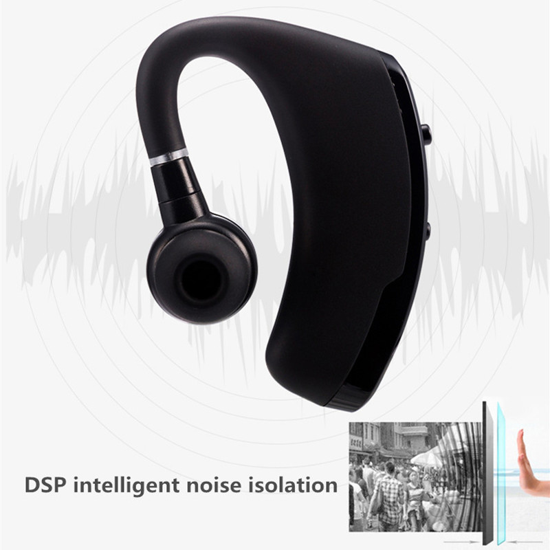 V9 Handsfree Wireless Bluetooth Earphones Noise Cancelling Business Wireless  Bluetooth Headset with Mic for Drive Office Sports-in Bluetooth Earphones  ... 542042e2b8