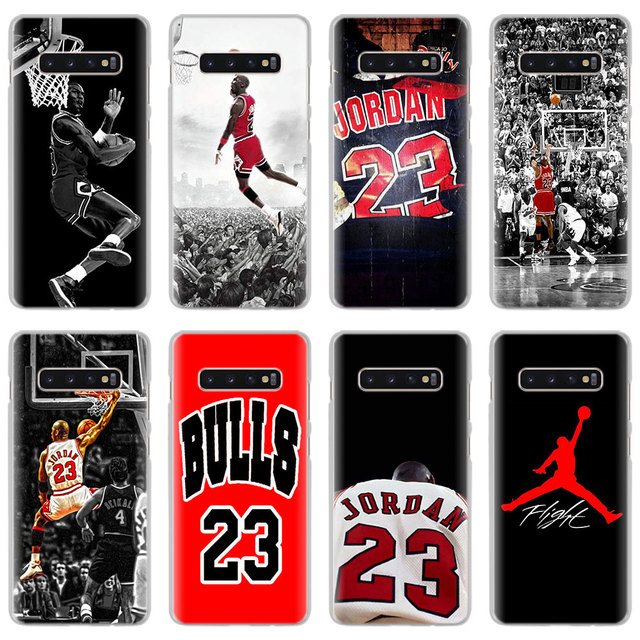 sports shoes b5031 79851 US $1.99 26% OFF|Basketball God Michael Jordan Phone Cases for Samsung  Galaxy S8 S9 S10 Plus S10e M10 M20 S6 S7 edge Hard PC back cover case-in ...