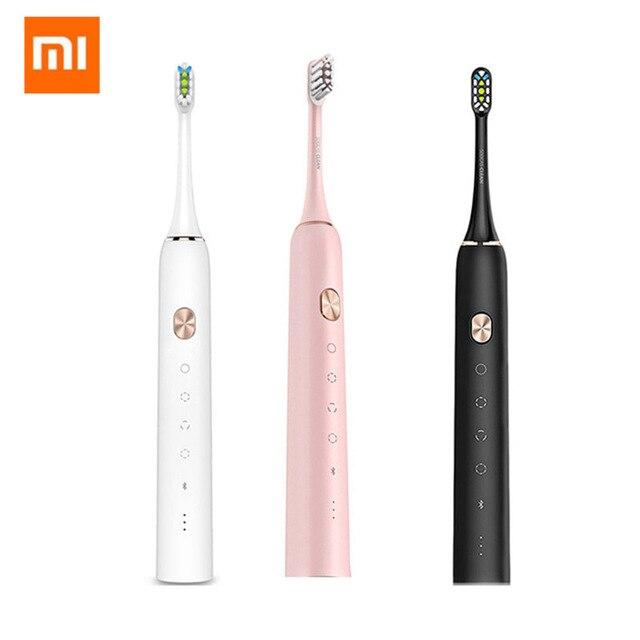 Xiaomi Mijia SOOCAS X3 USB Перезаряжаемые Sonic Электрический Зубная щётка IPX7 Водонепроницаемый с 4 чистки режимов от Xiaomi Youpin