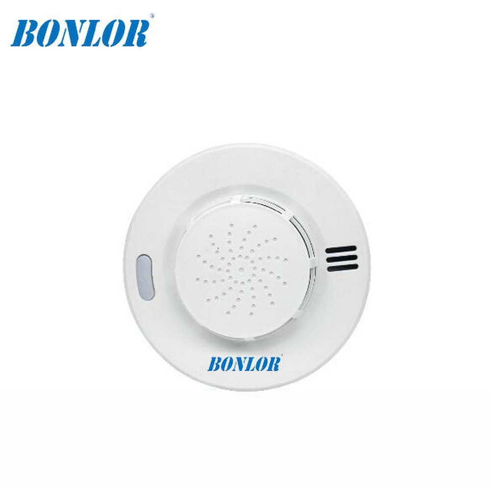 (1 PCS)BONLOR NEW 2018433MHz Portable Alarm Sensors Wireless Fire Smoke Detector For All Of Home Security Alarm System In Our St