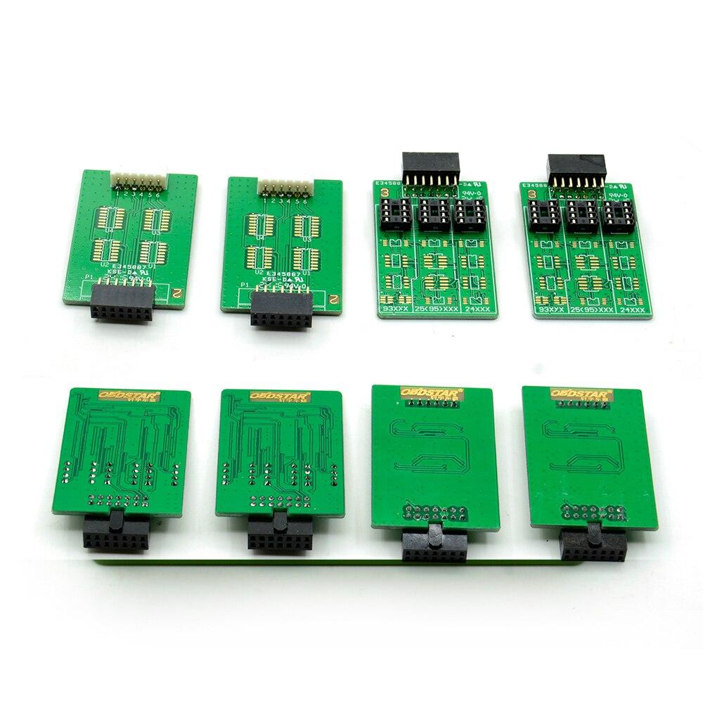 OBDSTAR PIC und EEPROM 2-in-1 adapter für X-100 PRO Auto Schlüssel Programmierer ECU Chip Tunning