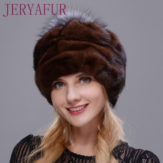 2017 nouvelle annonce chapeau rond intégré fourrure de vison et ...
