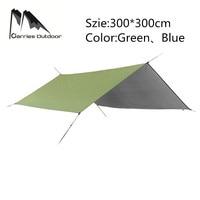 ARRIES Sun Shelter Fly Tarp Awning Hanging Beach Outdoor Waterproof Tent Hammock Rain Ultralight UV Garden