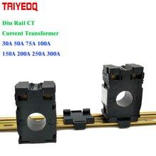 3 шт./лот Din rail трансформатор тока тороидальный трансформатор тока DM-20 CT 50A 75A 100A 150A 200A 250A 300A