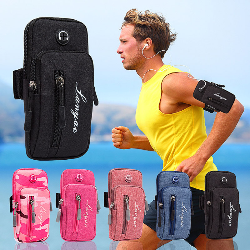 Universal Armband Sport Phone Case For Running Arm Phone Holder Sports Mobile Bag Hand Suitable To Smartphones Under 5.5 Inches