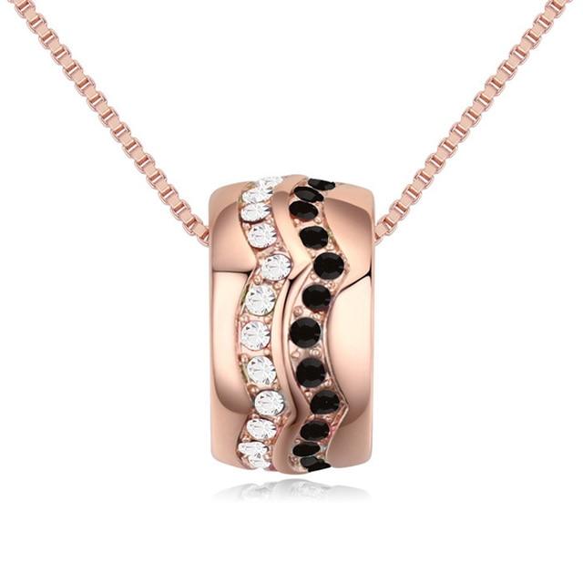 Фото уникальный новый золотой цвет горка бусы кулон ожерелье сделано