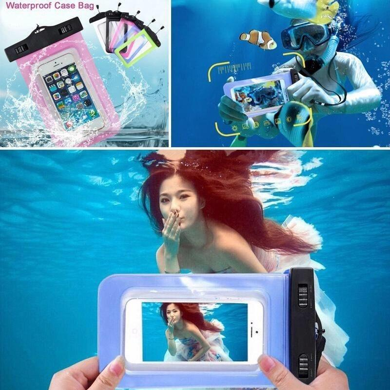 Waterproof Bag Case Underwater Pouch Dry Bag Case Cover for Huawei Iphone Samsung Mobile Phone