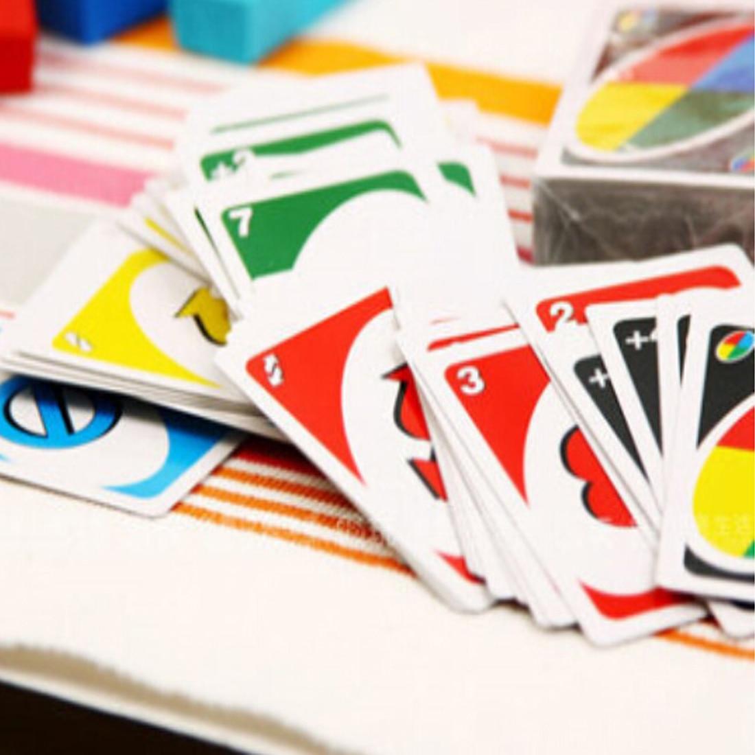 108 карт Семья развлечения Настольная игра покер UNO Fun Покер игральных карт Логические игры бренд