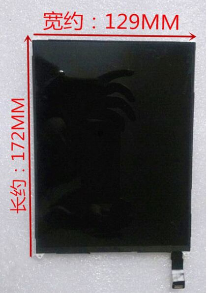 7.85 Inch  LCD DISPLAY Matrix SCREEN 821-1536-a For FLY Flylife Connect 7.85 3G Slim Tablet Pc Replacement