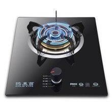 Fogão a gás doméstico com queimador único, tipo incorporado/forno a gás de mesa