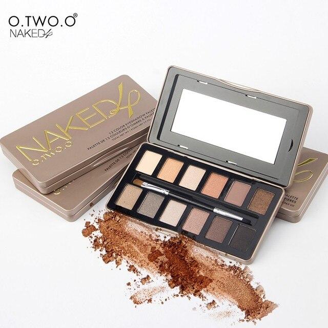 O. два. nude and smoky палитра eyeshdow 12 цветов shimmer матовый тени для век palette