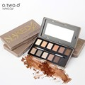 O.TWO.O  Palette Nude and Smoky Eyeshdow  12 Colors Shimmer Matte Eyeshadow Palette