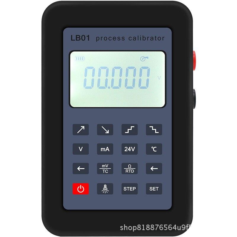 Nouveau LB01 Thermocouple Actuel Voltmètre Générateur de Signal Source Calibrateur Calibrateur de Process 4-20mA/0-10 v/mV