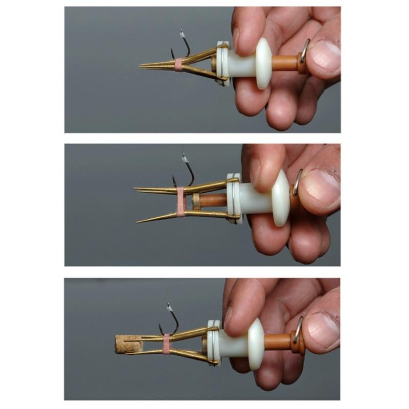 Supplies Bloodworm Lure Granule Angleworm Clip Carp Fishing Bander Pellet Plier