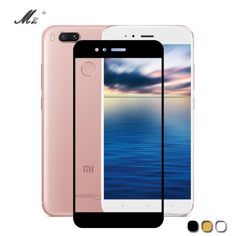 Mi 6 For Xiaomi Xiomi Mi A1 Case Screen 2.5D Cover Tempered Glass For Xiaomi Xiami Xaomi Mi6 Mi5 Mia1 Mi 5 Mia 1 Protective Film