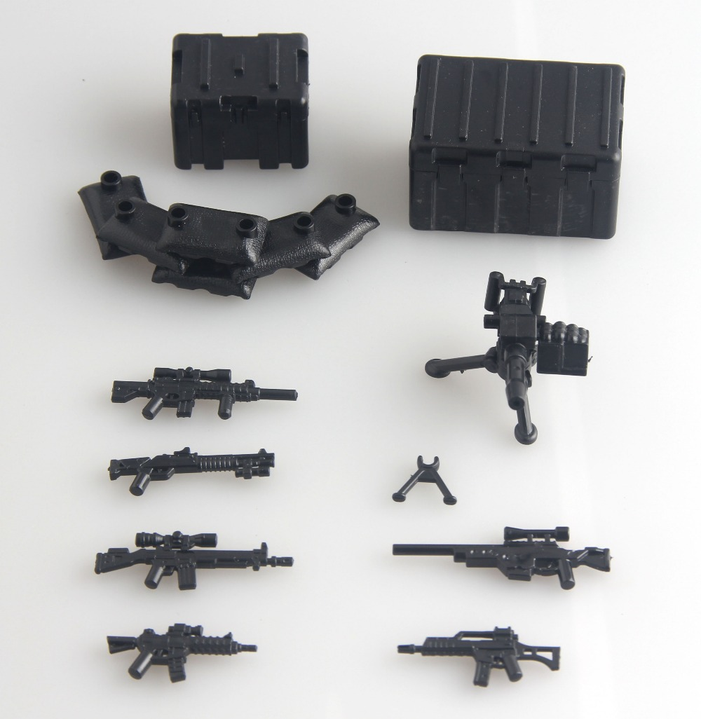 Pogo Military Series Third Party Weapons Pack Brick For Army Soldier