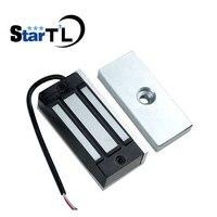 Fechadura eletromagnética  frete grátis  gaveta fechadura elétrica  12v dc 60kg  força de suporte para acesso controle de controle