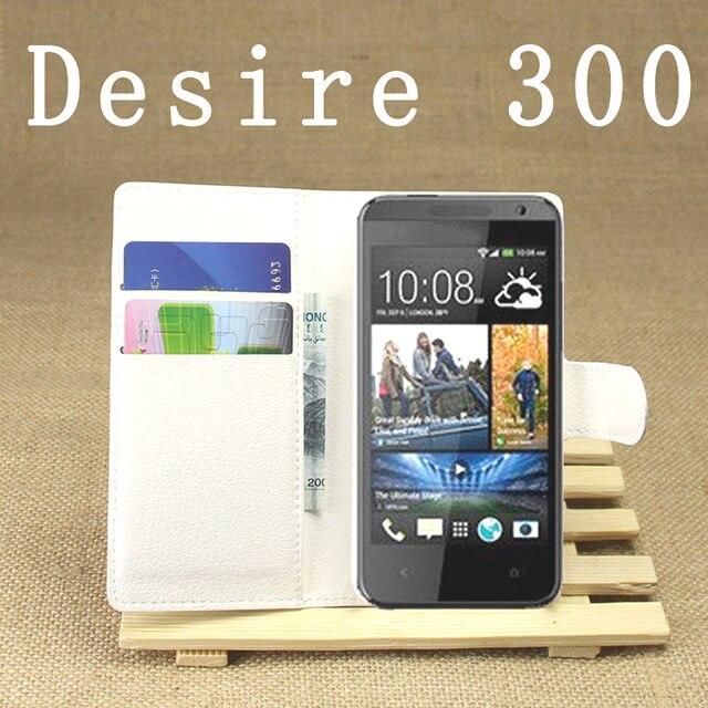 Чехол-Бумажник для HTC desire 300 mobile, бесплатная доставка