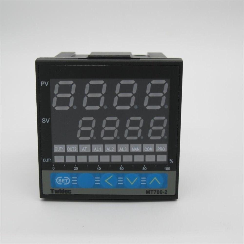 Alta qualidade de Saída 4-20ma MT700-2 Termometro Termostato de Controle De temperatura PID Controlador Digital 72*72